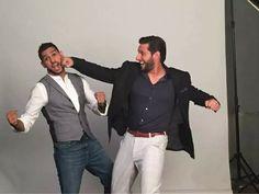 Two legends in one photo shot. Amir khan( boxer) & Shahid Khan Afridi(cricketer)