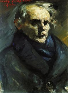 Lovis Corinth -Portrait of the Painter Bernt Gronvold, 1923, oil on canvas, 80 cm (31.5 in.) - 60 cm (23.62 in),  Kunsthalle Bremen (Germany).