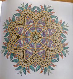Eerste echte mandala kleurboek