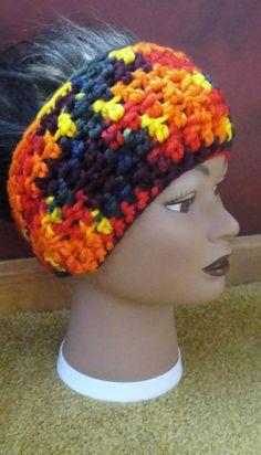 winter headwrap  multi colored by adamkhloe on Etsy, $15.00