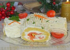 Tronchetto salato di patate ricetta per le feste, un'idea sfiziosa e diversa dal solito, un tronchetto a base di patate farcito al salmone, buono e bello.