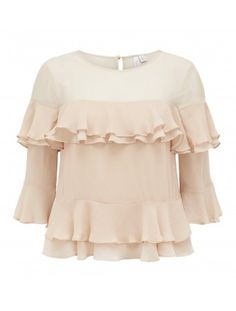 Discover a new wardrobe favourite and channel chic sophistication with our Lea Tiered Frill Fluted Blouse, sure to see you transition effortlessly from day to night. Fashion Forever, Forever New, New Wardrobe, Flute, No Frills, Ruffle Blouse, Chic, Womens Fashion, Clothes