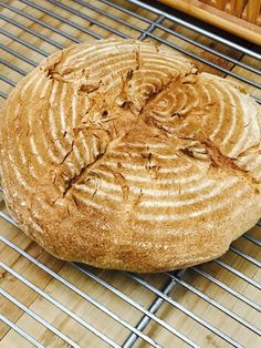 Air Fryer Sourdough Boule