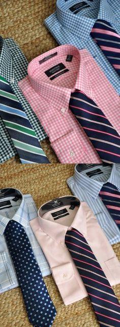 Men's Dress Shirts and Ties