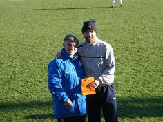 Mister Magrini e l'allenatore della Rappresentativa #LegaPro #Under19 #Bertotto