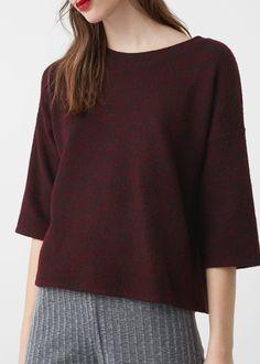 Katoenen trui - Sweaters voor Dames | MANGO België