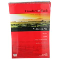 Crawford & Black - A3 Sketch Pad - Pack of 12 | Sketchpads at The Works