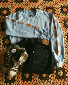 Mode - O u t f i t s 3 - The Effective Pictures We Offer You About Back To School Outfit 2019 A quality picture can tell you many things. Teen Fashion Outfits, Retro Outfits, Grunge Outfits, Cute Casual Outfits, Fall Outfits, Vintage Outfits, Summer Outfits, Fashion Fashion, Fashion Black