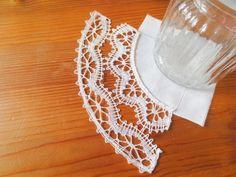 こちらはトヨまるさんのWくも型布付けの完成。トヨまるさんは少し太めの糸で巻き目をして、ぽってりと仕上げました。とてもきれいに編めて、しあげました。041/20161025