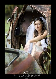trash the dress in rusty cars, but show more dress