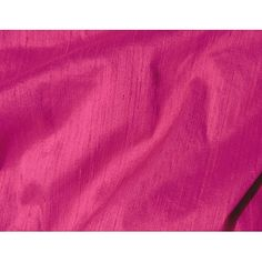 Jewel Tone Magenta Fuchsia Dupioni Silk Fabric