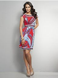 I have never been a fan of paisley print, but I really like this dress.
