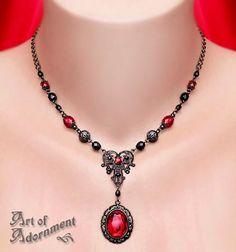 Lucrezia Pendant Necklace by ~ArtOfAdornment on deviantART