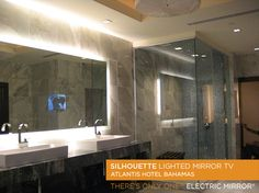 Electric Mirror  Atlantis Hotel Bahamas-Silhouette with TV  2008
