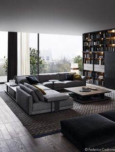 Make your living room decor the stylish place on earth with these lovely and modern sofas. See more related sofas here. See more sofas ideas  here www.covethouse.eu