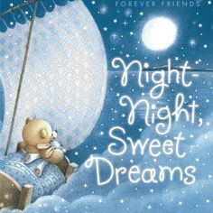 Animated Good Night Graphics | Night Night Sweet Dreams Image