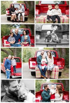 I generally open up booking for my mini sessions in September and shoot  them in November. So the weather is completely not predictable. That is  until I use the farmers Almanac but ain't nobody got time for that. A week  out this day was sunny with 10% chance of rain. Fast forward to two days  before...60% chance of rain. Seriously? This truck is a clients and it  was driven in from out of state, JUST. FOR. MY. MINIS. Rain, rain go away.  Well it did but look what I got out of…