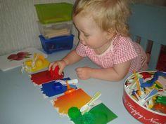 Как мы учим цвета - Babyblog.ru
