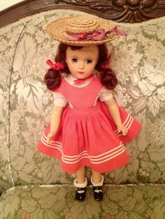 "Vintage Madame Alexander 14"" Composition Margaret O'Brien Doll 