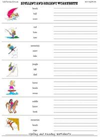 8 best spelling images on pinterest spelling words spelling free spelling worksheet maker printable reading worksheet templates with images spelling worksheets spelling ibookread Download