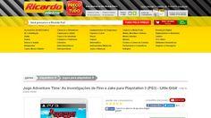 [Ricardoeletro.com] Jogo Adventure Time: As investigações de Finn e Jake para Playstation 3 ( PS3 ) - Little Orbit 000000000800314900…