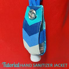 TUTORIAL: Hand Sanitizer Jacket | Perfect for teachers, new moms, and holiday grab-bags. | The Inspired Wren