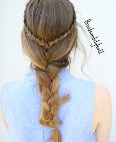 4 Easy Summer Hairstyle Ideas by Braidsandstyles12. Easy Braided Hairstyles, Braids.