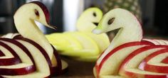 How To:  Apple Swans