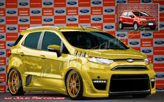 New Ecosport! Sugarless Gummy Bears, Ford Ecosport, Car Mods, Jeeps, Cars, Vehicles, Red, Madness, Pickup Trucks