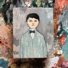 Oil painting portrait - Neil - Original art