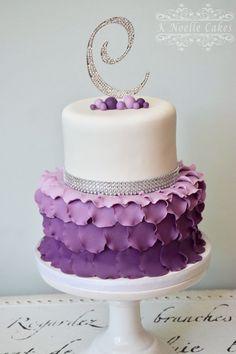 Fondant cake by K Noelle Cakes