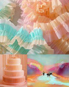 frozen sherbert colour inspiration