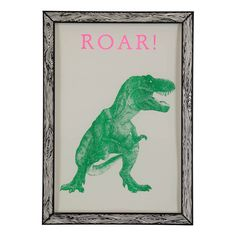 29.7x42cm Roar! Poster THE prints by Marke Newton Children- A large selection of Design on Smallable, the Family Concept Store - More than 600 brands.