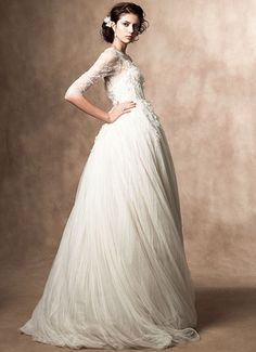 Beautiful Fairytale Wedding Gown by Samuelle Couture