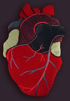 Heart pillow :)