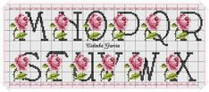 This Pin was discovered by Raq Cross Stitch Alphabet, Diy And Crafts, Projects To Try, Canvas, Lettering, Crossstitch, Needlepoint, Cross Stitch Love, Cross Stitch Letters