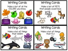 Writing Cards - for list making and more - $