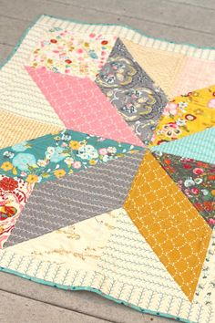 Three Star Baby Quilts | Craftsy
