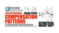 Learn to recognize common Compensation Patterns in Human Movement in order to change these Dysfunctions, improve Movement Quality and prevent injuries.