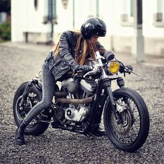 - 2007 Harley XL883 Sportster inspired by the same...