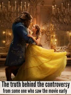 the truth behind the beauty and the beast controversy from some one who saw the film two weeks early