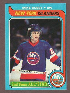 1979-80 Topps Mike Bossy New York Islanders