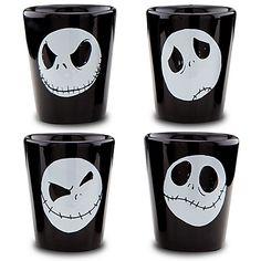 Conjunto de Cerâmica 4 copos Jack Disney