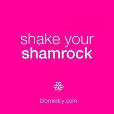 We hear it brings good luck. Happy #StPatricksDay! xo #bloheartsyou