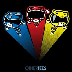 Mighty Morphin Power Puffs by JBaz
