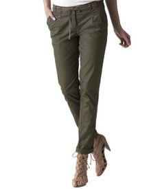 Pantalon chino kaki - Promod