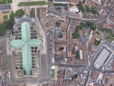 Photo aérienne de Chartres - Eure-et-Loir (28)