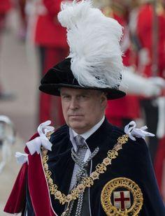 Prince Andrew, the Duke of York, June 17, 2013