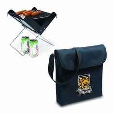Pin it! :) Follow us :)) CLICK IMAGE TWICE for Pricing and Info :) SEE A LARGER SELECTION of camping coolers at   -  hunting, camping accessories, camping insulated bags, coolers, camping gear, camp supplies - NCAA Colorado College Tigers Portable Charcoal V-Grill « zCamping.com