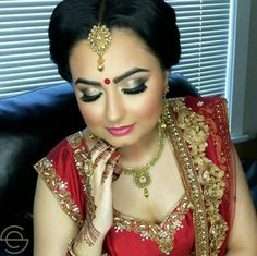 cool vancouver wedding Suneet for her engagement #tbt Hair/Makeup by @studioelan artist Sukhi Makeup details: @maccosmetics studio fix foundation and setting powder @lagirlcosmetics hd pro concealer for sculpting @anastasiabeverlyhills brow powder @anastasiabeverlyhills contour palette @urbandecaycosmetics shadows @maccosmetics love joy blush @beccacosmetics champagne pop highlight...